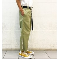 【DICKIES×WHO'S WHO gallery】リメイクプリントパンツ【フーズフーギャラリー/WHO'S WHO gallery チノ】