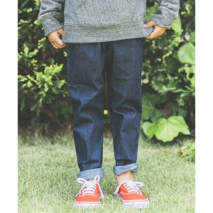 【Smoothy(スムージー)】01PT-01 - SMOOTHY Stretch Sarrouel Denim Pants For Kid