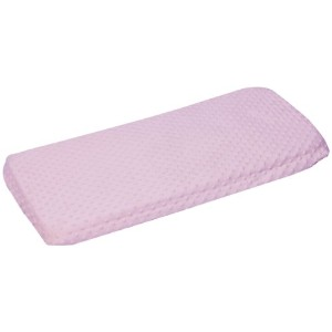 Baby Doll Bedding Minky Changing Table Cover, Pink by BabyDoll Bedding