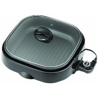 Aroma ASP-238BC Grillet 3-in-1 Indoor Grill [並行輸入品]