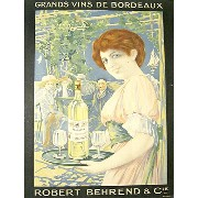 GRANDS VINS DE BORDEAUX /ROBERT BEHREND(裏打ち)