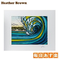 Heather Brown ヘザーブラウン Open Edition Matted Art Prints アートプリント Outer Reef アウターリーフ HB9086P ハワイ 絵画 インテリア