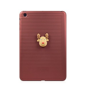Bone Collection 【iPad mini 対応】 ハードケース スタンド機能付き iPad Folio mini Red PA12081-R
