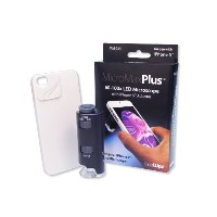 MicroMaxPlus LED Microscope For iPhone 5/5s Mobile Phone- (並行輸入品)