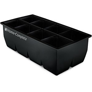 Ice Cube Trays - Giant 2 Inch Ice Cube Flexible Silicone Tray - Large Freezer Whiskey and Cocktail...