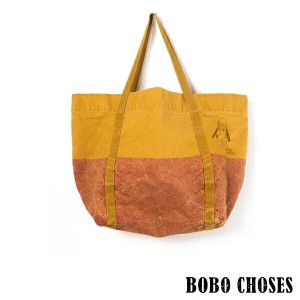 《BOBO CHOSES/ボボショセス》Bicolor Tote Bag Red Loup