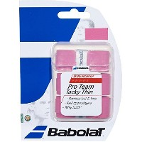 Babolat Pro Team Tacky Overgrip - Pink, One Size by Babolat