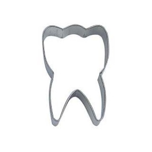 Tooth Metal Cookie Cutter by R&M