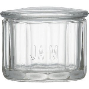 Anchor Hocking Fire King Glass Jam Dip with Lid (Jam) by Anchor Hocking