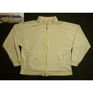 osw757 M USA産 Pierre Cardin ベロア ジャージトップ 古着 【中古】 アメリカ古着