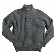 Barbour Chelsea Button Neck Sweaterバブアー セーター ニット バーブァー 送料無料