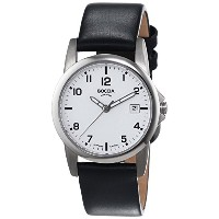 Boccia Sport 3080-01 Gents Watch with Leather Strap