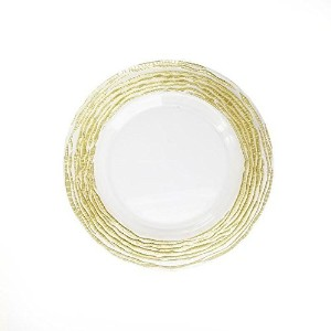 The Jay Companies Arizona Charger Plate, Gold [並行輸入品]