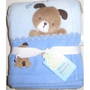 Carters Daddy's Champ Blue Dog Blanket by Carters, Child of Mine