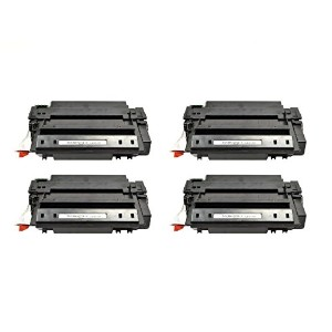 ECOMAX 4PK Q7551X ブラック ハイ Yield Compatible Toner Cartridges リプレイスメント for 51X LaserJet M3027 MFP,...