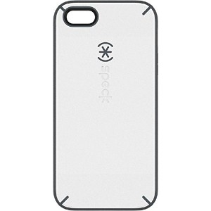 Speck Products MightyShell Case for iPhone 5/5s - Retail Packaging - White/Charcoal/Slate [並行輸入品]