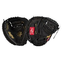 ローリングス メンズ 野球 グローブ【Rawlings Heart of the Hide Catchers Mitt】Black