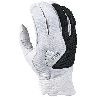 アディダス メンズ 野球 グローブ【adidas EQT Guardian Batting Gloves】White/Black
