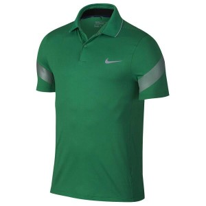 ナイキ メンズ トップス ポロシャツ【Nike Major Moment Fly Framing Golf Polo】Lucid Green/Midnight Navy/Reflective...