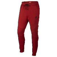 ナイキ メンズ バスケットボール スポーツ Men's Nike Tech Fleece Jogger University Red Heather/University Red/Black