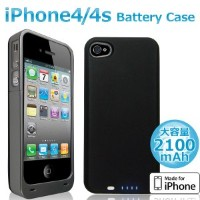 MOTION MotionTech iphone4/4S バッテリー内蔵ケース Apple認証「made for iphone」 MT-I4CB2101K