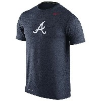 ナイキ メンズ Tシャツ トップス Men's Nike MLB Dri-FIT Touch Logo T-Shirt Navy