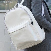[UNBROWN] SHOW ME BACK DAILY BACKPACK (WHITE)