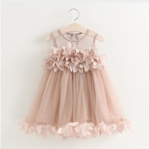Sotida Girls Dresses Sweet Princess Dress Baby Kids Girls Clothing Wedding Party Dresses