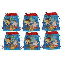 Jake The Pirate Non Woven Sling Bag x 6