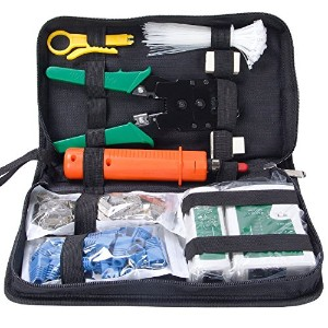 Network Tool Kits Professional Net Computer Maintenance LAN Cable Tester 9 in 1 Repair Tools