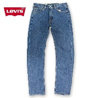 LEVI'S リーバイス 505 REGULAR FIT MIDIUM STONEWASH デニム USA企画 正規