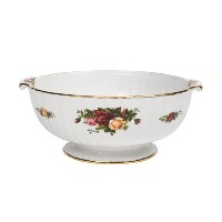 Royal Albert Old Country Roses 9-inch Fluted Serving Bowl by Royal Albert
