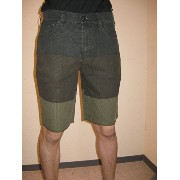 【30%OFF】≪一万円以上で送料無料≫【11 SPRING HURLEY】 84 LOWRIDER BLOCK PARTY SHORT PANTS BRN 【30】 MW606LBP