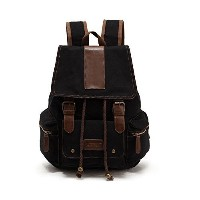Bronze Times バックパック 背負カバン リュックサック プレッピー 帆布 旅行 カジュアル Preppy Style Leisure Canvas Travel Backpack...