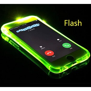 iPhone5S/SE ケース, Cool Flashing Light UP To Remind Incoming Call Slim カバー by Phone's LED Refraction,...