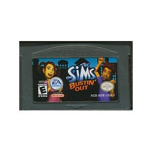 GBA THE SIMS BURSTIN OUT/ザ・シムズ 海外版 (ソフトのみ)【中古】