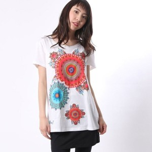 【SALE 30%OFF】デシグアル Desigual TS_MARY (BLANCO)