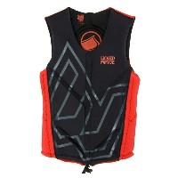2013 LIQUID FORCE WATSON COMP VESTS CARDIGAN BLACK/RED リキッドフォース ワトソン コンプベスト