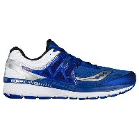 サッカニー メンズ スニーカー シューズ Men's Saucony Hurricane ISO 3 Blue/White/Silver
