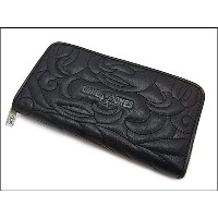【LONE ONES ロンワンズ】ロングウォレットMFW-0013-EMating Flight Wallet:Zipper Long Wallet Enbroidery★送料・代引き手数料無料...