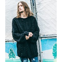 【GLAMB by glamb】GG16AT-KNT02-Hand knitting sweater セーター