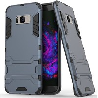 Galaxy S8 Plus ケース, Awesome Armor Foldable Movie Back Stand Slim カバー, TAITOU New Ultra Hybrid 2 In...