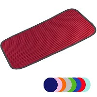 Jovilife Dish Drying Mat Kitchen Mat(set of 2) Microfiber Absorbent Washable, 9*18 Inch, Red by...