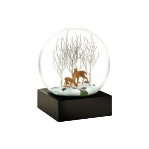 cool snow globes クール スノー グローブ【Deer in wood】