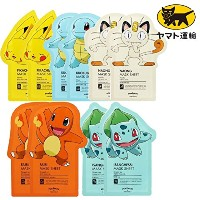 Tonymoly Pokemon Sheet Mask pack(10 Sheets) トニーモリ― ポケットモンスター マスクパック 10枚入り/All-In-One/ヤマト運輸で配送