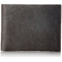 Dynomighty Black Leather Tyvek Sewn Billfold Wallet - Water/Stain/Tear Resistant Giftable Limited...