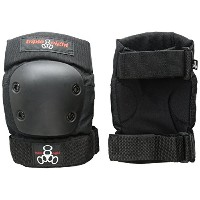 Triple 8 EP 55 Elbow Pads - Skate Safety Pads - Black- JR (XS) by Triple Eight