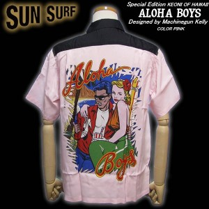Sun Surf Special EditionALOHA BOYS (PINK) by Machinegun Kellyマシンガンケリー・デザイン!