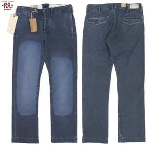 RRL (double RL) Repaired Canvas Work Trouser ダブルアールエル リペア加工 キャンバスワークパンツ