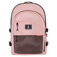 ABroad [PREMIUM] Crazy Backpack (baby pink)